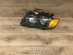 02-05 Bmw E46 Sedan 328i 325i 330i Front Left Side Xenon Hid Headlight Light Oem