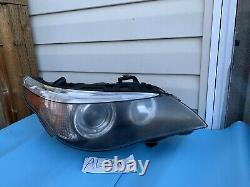 2004-2007 BMW 5 Series 545i Right RH Xenon HID Headlight Adaptive AFS OEM A786