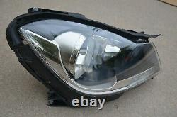 2012 2013 2014 Mercedes-benz C-class Right Rh Side Halogen Headlight Oem