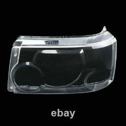 2pcs Headlight Headlamp Lens Cover For Land Rover Range Rover Sport 2006-2009