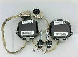 2x New OEM For Nissan 350Z Altima Maxima Murano Xenon Ballast & HID D2S Bulb Kit