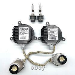 2x New OEM For Nissan 350z Altima Rogue Xenon Ballast Igniter + D2R Bulb Kit