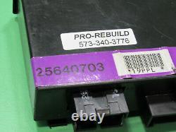 97-99 Olds Aurora Sentinel Headlight Lighting Control Module 25640703 Rebuilt