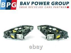 BMW 3' G20 G21 Headlights Headlamps Set Laser Complete RHD UK 9481709 9481710