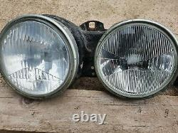 BMW E30 Prefacelift Early Headlights Headlamps Front Lights Lamps Beams Units M3
