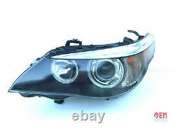 Bmw Oem E60 E61 M5 Front Driver Side Xenon Headlight Adaptive Dynamic 2004-2007