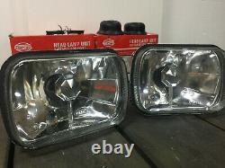 Fiat 126 127 128 YUGO Pair of Clear Headlights HEAD LAMP UNIT