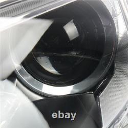 Fit AUDI A5 S5 12-16 RS5 Pair Bumper Headlight Headlamp Xenon Convex lens L+