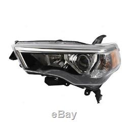 Fits 14-19 Toyota 4Runner Set Combination Headlamps Left + Right Headlight Units