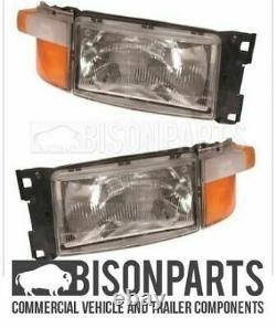 Fits Scania 5 Series P & R Cab Headlight / Headlamp RH/OS & LH/NS (Both Sides)