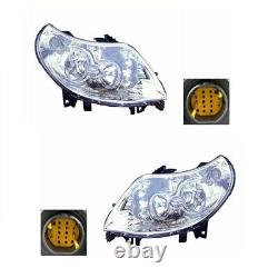 For Citroen Relay Mk3 2006-5/2011 Headlights Headlamps 1 Pair O/S And N/S