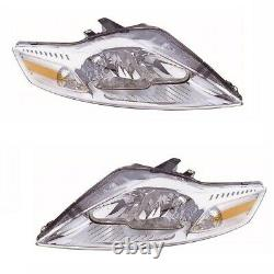 For Ford Mondeo Mk4 6/2007-3/2011 Headlights Headlamps 1 Pair O/S And N/S