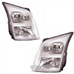 For Ford Transit Mk7 4/2006 Headlights Headlamps Lighting Part 1 Pair O/S & N/S