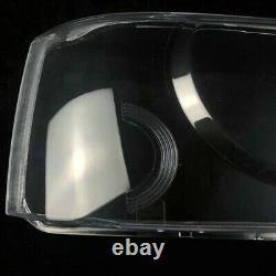 For Land Rover Range Rover Sport 2006-09 Pair Headlight Headlamp Lens Cover New