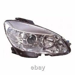 For Mercedes C Class W204 5/2007-2010 Headlight Headlamp Uk Drivers Side O/S