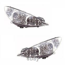 For Peugeot Rcz 2010 Headlights Headlamps Lighting 1 Pair O/S & N/S