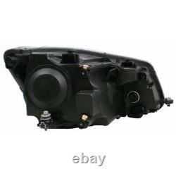 For VW Caddy Mk3 10/2010 Headlight Headlamp Black Uk Passenger Side N/S