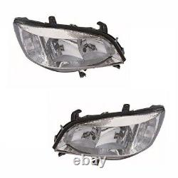 For Vauxhall Zafira Mk1 1999-2005 Headlights Headlamps 1 Pair O/S And N/S