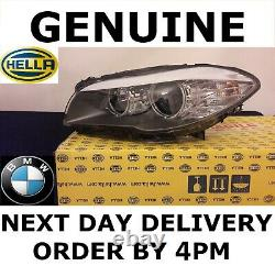 GENUINE BMW 5 Series F10 F11 Headlight Headlamp Halogen Left Passenger AND TMS