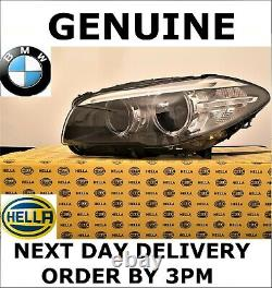 GENUINE BMW F10 F11 LCI Xenon HELLA Headlight Headlamp Passenger Side 2013-2017
