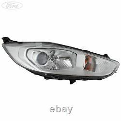 Genuine Ford Fiesta Mk7 Front O/S Headlight Headlamp Unit 2012- 2126885