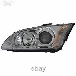 Genuine Ford Focus MK2 Front N/S Headlight Headlamp Unit LHD 1480994