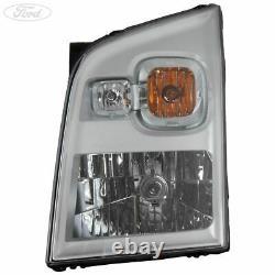 Genuine Ford Transit Mk7 Front N/S Headlight Headlamp & Flasher Unit 1714644