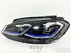 Genuine Oem Vw Golf Mk7.5 Full Led Left Headlight Lamp 5g2941035b Gte (s2)