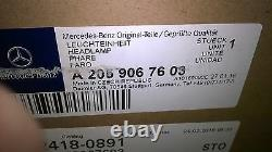 Headlamp Front RH LED Headlight Unit Assembly Mercedes C Class 205 GENUINE PART