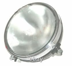 Headlight Headlamp Assey 8 Flat Glass Miler Type For BSA Norton Triumph AJS GEc