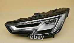 Headlight headlamp Audi A4 B9 2015-2019 Full LED, Left Side, Passenger Side, N/S