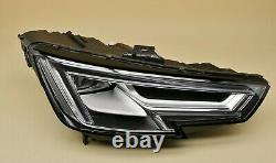 Headlight headlamp Audi A4 B9 2015-2019 Full LED, Right Side, Driver Side, O/S
