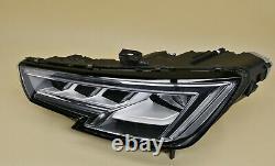 Headlight headlamp Audi A4 B9 2015-2019 Matrix Full LED, Left / Passenger Side