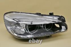 Headlight headlamp BMW 2 F45 F46 2013-2018 Full LED, right side, diver side, O/S