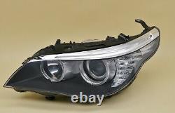 Headlight headlamp BMW 5-Series E60 E61 LCI 2007-2010 left side, passenger side