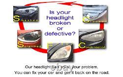 Headlight headlamp BMW 5-Series E60 E61 LCI 2007-2010 right side, driver side