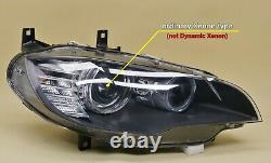 Headlight headlamp BMW X5 E70 2006-2011 Xenon, right side, driver side, off side
