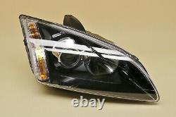 Headlight headlamp Ford Focus II MK2 2004-2007 Xenon, right side, driver side