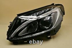 Headlight headlamp Mercedes C-Class W205 2014-2018 FULL LED Left Side, Near Side