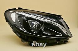 Headlight headlamp Mercedes C-Class W205 2014-2018 FULL LED Right Side, Off Side