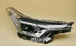 Headlight headlamp Toyota C-HR 2016-2020 Right Side, Driver Side, Off Side, O/S