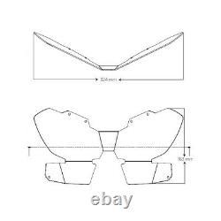 Honda CRF1100 L Africa Twin 2020 Puig Headlight, Headlamp Protector Clear