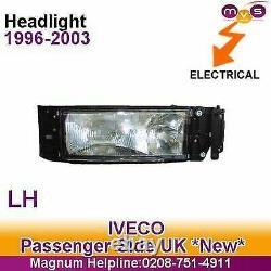 Iveco Eurocargo Headlight Headlamp Electric Levelling N/S Left 1991-2003