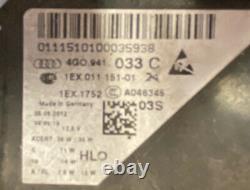 LHD AUDI A6 S6 c7 FRONT HEADLIGHT HEADLAMP LEFT FULL MATRIX LED 4G0941033C