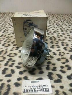 Lambretta Ser. 3 Li125/150 C. E. VBoxed Headlight Headlamp Unit Mint N. O. S ULMA