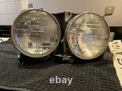 Mercedes W107 R107 C107 SL SLC USA Spec Twin Headlamp Headlight Units
