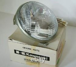 NOS 1973-78 Kawasaki H1 S1 S2 S3 KH400 Sealed Beam headlight Unit oem 23007-043