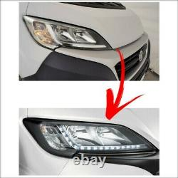 Neu! LED Scheinwerfer Umbau Fiat Ducato Tagfahlicht Steuergerät 130732952800