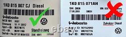 OEM Webasto Standheizung Telestart STH 3Q0963513 Satz AUDI Fern VW Seat Skoda