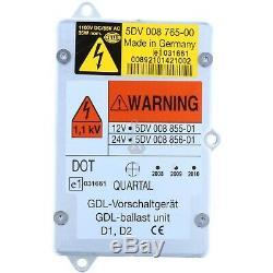 ORIGINAL HELLA Xenon Scheinwerfer Steuergerät 5DV 008765-00 24V Ballast LKW NEU